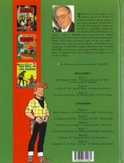 Chick Bill ; intégrale t.3 - 4ème de couverture - Format classique