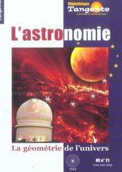Astronomie : La Geometrie De L'Univers - Intérieur - Format classique