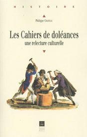 Cahiers De Doleances Une Relecture Culturelle - Intérieur - Format classique
