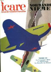 Icare N°65 - Normandie Niemen - Tome Iv - La Campagne 1944, La Bielorussie, La Bataille Du Niemen - Couverture - Format classique