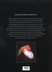Iles grecques - 4ème de couverture - Format classique