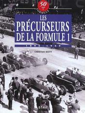 Vol.6 : Les Precurseurs De La Formule 1 - Intérieur - Format classique