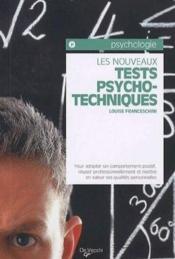 Les nouveaux tests psycho techniques - Couverture - Format classique