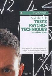 Les nouveaux tests psycho techniques - Intérieur - Format classique