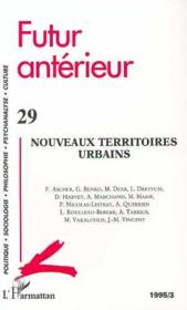 Nouveaux Territoires Urbains N°29 - Couverture - Format classique