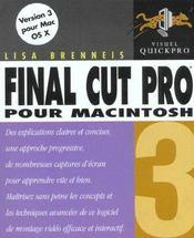 Peachpit Final Cut Pro 3 - Intérieur - Format classique