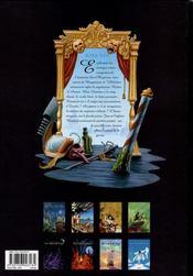 De cape et de crocs t.8 ; le maître d'armes - 4ème de couverture - Format classique