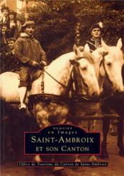 Saint-Ambroix et son canton - Couverture - Format classique