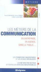 Les metiers de la communication en entreprise, en agence, dans le public - Intérieur - Format classique