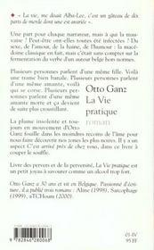 La Vie Pratique - 4ème de couverture - Format classique