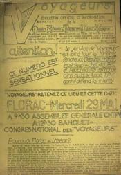 VOYAGEURS - N°40 - 1ere ANNEE - Couverture - Format classique