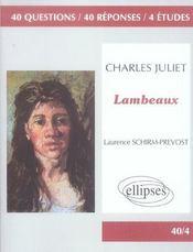 Charles Juliet Lambeaux - Intérieur - Format classique