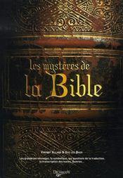 Les mystères de la bible - Intérieur - Format classique