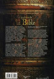 Les mystères de la bible - 4ème de couverture - Format classique