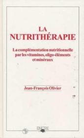 Nutritherapie - Couverture - Format classique