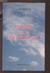 Croire En La Providence - Couverture - Format classique
