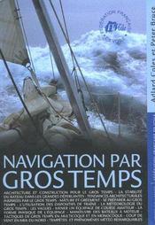 Navigation Par Gros Temps - Intérieur - Format classique