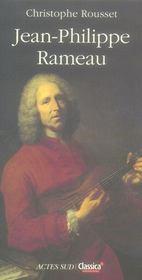 Jean-Philippe Rameau - Intérieur - Format classique