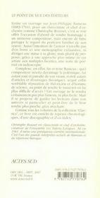 Jean-Philippe Rameau - 4ème de couverture - Format classique