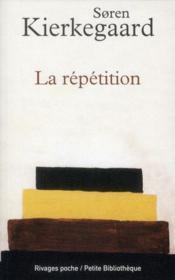 La répétition - Couverture - Format classique