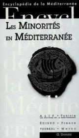 Les minorites en mediterranee - Couverture - Format classique