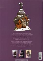 Okko t.3 ; le cycle de la terre t.1 - 4ème de couverture - Format classique