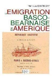 Lemigration Basco-Bearnaise En Amerique - Couverture - Format classique