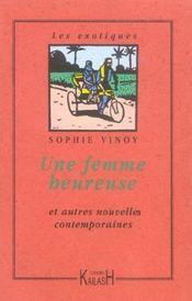 Une Femme Heureuse Et Autres Nouvelles Contemporaines - Intérieur - Format classique