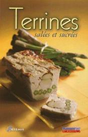 Terrines salées et sucrées - Couverture - Format classique