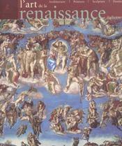L'art de la Renaissance italienne ; architecture, peinture, sculpture, dessin - Intérieur - Format classique