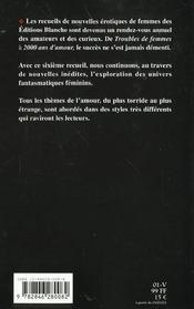 Fantasmes De Femmes - 4ème de couverture - Format classique