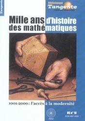 1000 Ans D'Histoire Des Maths -Hs Bib 10 - Intérieur - Format classique