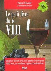 Le petit livre du vin 2000 - Intérieur - Format classique