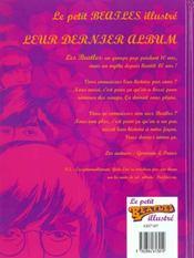 Le Petit Beatles Illustre - 4ème de couverture - Format classique