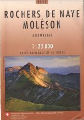 Rochers de Naye-Moléson - Couverture - Format classique