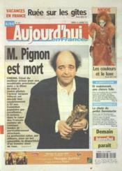 Aujourd'Hui En France N°1157 du 29/01/2005 - Couverture - Format classique