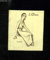 Programme. L Oeuvre. 1893 - 1945. - Couverture - Format classique