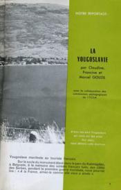 Bibliotheque De Travail N°596- La Yougoslavie - Couverture - Format classique