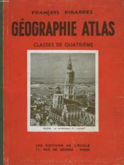 Geographie-Atals - L'Europe (Moins La France) Et L'Asir Russe - Classe De 4° C. C. - Couverture - Format classique