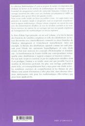 Analyse Complexe Et Distributions - 4ème de couverture - Format classique