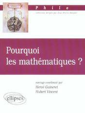 Pourquoi Les Mathematiques ? - Intérieur - Format classique