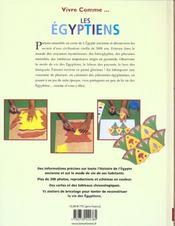 Vivre comme les Egyptiens - 4ème de couverture - Format classique