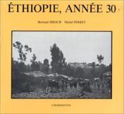 Ethiopie, année 30 - Couverture - Format classique