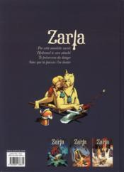 Zarla t.1 ; guerrière impitoyable - 4ème de couverture - Format classique