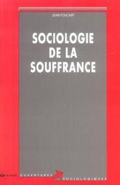 Sociologie De La Souffrance - Intérieur - Format classique