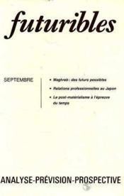 Futuribles N.58 Septembre 1982 - Couverture - Format classique
