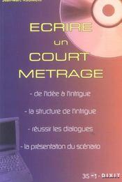 Ecrire Un Court Metrage - Intérieur - Format classique
