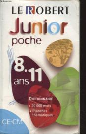 Le Robert Junior Poche - Couverture - Format classique