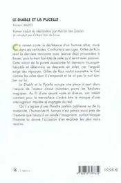 Le Diable Et La Pucelle - 4ème de couverture - Format classique