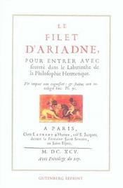 Le Filet D'Ariadne - Intérieur - Format classique